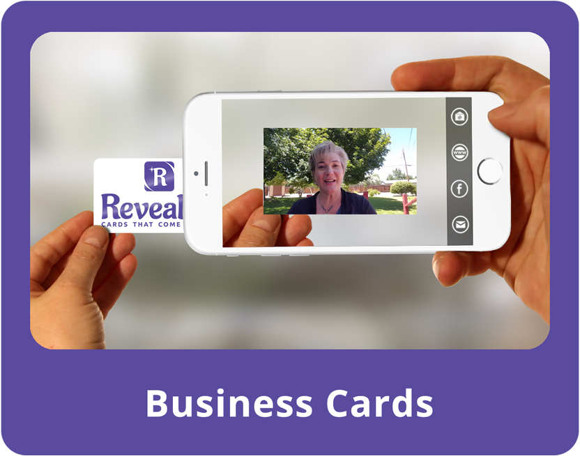Revealio - Business Cards